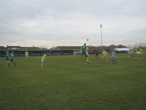 Photo: 16/02/13 v Hendon (Isthmian League Premier Division) 0-3 - contributed by Justin Holmes
