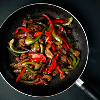 Stir-fried Beef with Oyster Sauce.