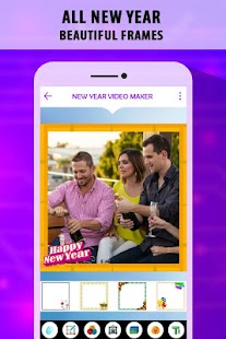 New Year Photo Video Maker - náhled