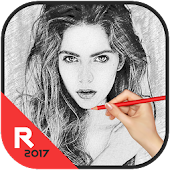 Pencil Sketch Photo Editor, Sketch Picture Effect