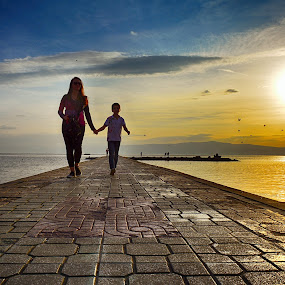 Sunset  by Katerina Mavrovska - People Street & Candids