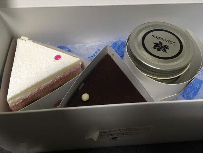 リリーケイクスの三角ケーキ