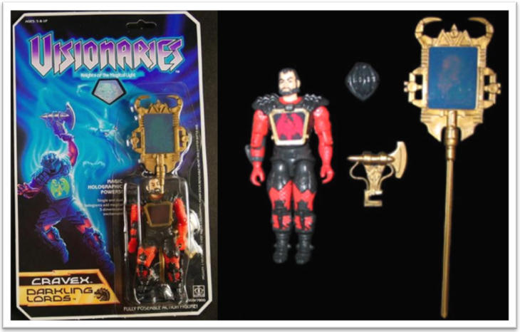 Visionaries Action force figures Leoric Witterquick Arzon Cravex Ectar Darkstorm