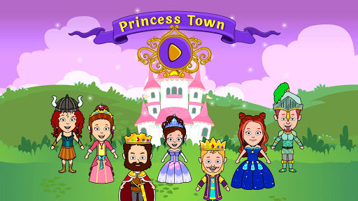 My Tizi Princess Town - Doll House Castle Game 2.0 screenshots 1