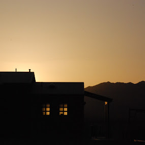 Death Valley Sunrise by Frank Kruller - Buildings & Architecture Public & Historical ( sunrise nevada )