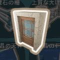 大理石のドア