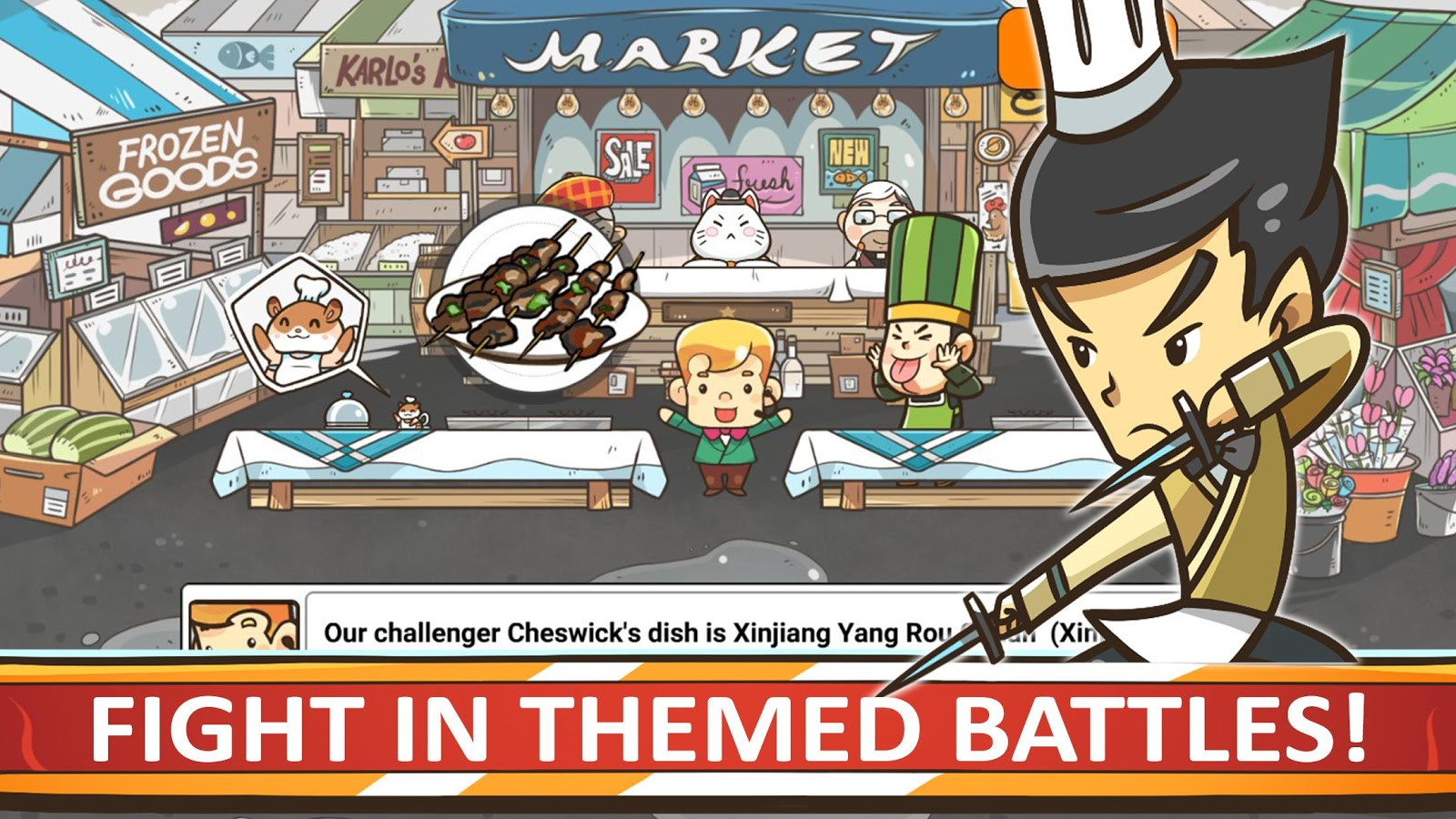 Chef Wars- screenshot
