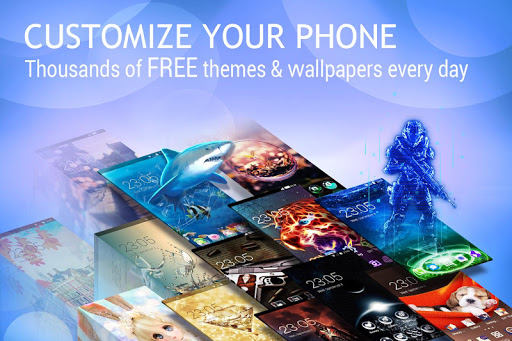 U Launcher Lite – FREE Live Cool Themes, Hide Apps for PC