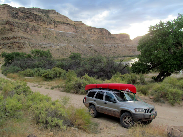 Parked in Gray Canyon