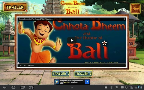 Bali Movie App - Chhota Bheem screenshot 5