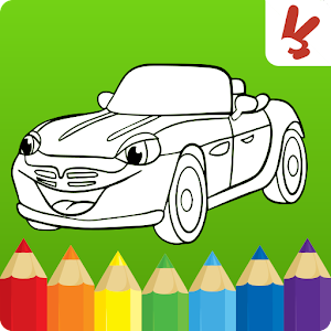 Cars Coloring Book For Kids