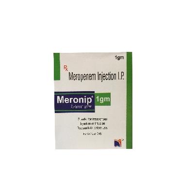 MERONIP NOVA INDUS 1G I.V. 1 AMP