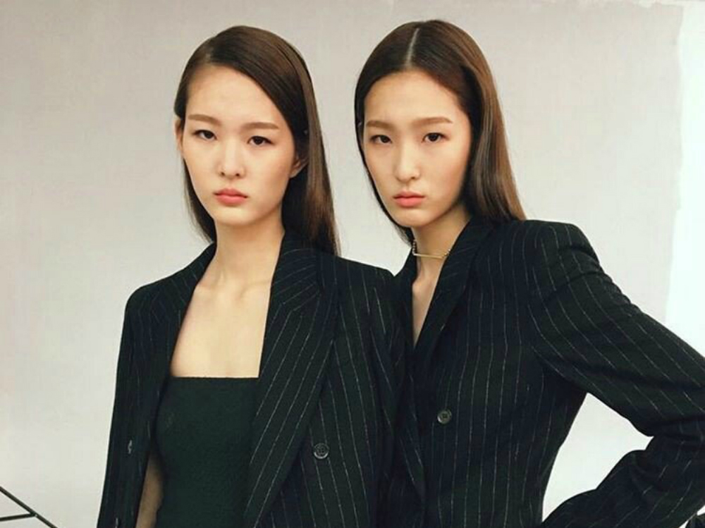 all of korea is falling in love with these 16 year old twin sisters from yg koreaboo. Black Bedroom Furniture Sets. Home Design Ideas