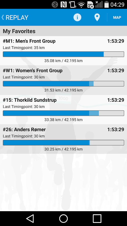 Telenor Copenhagen Marathon- screenshot