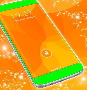 Orange Locker Motiv zdarma - náhled