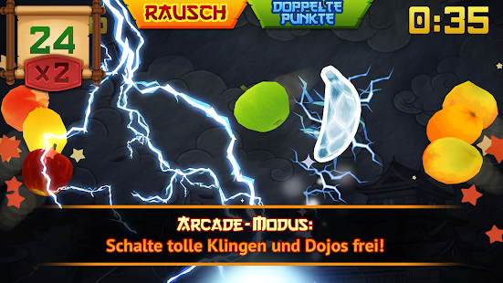 Fruit Ninja Classic – Miniaturansicht des Screenshots