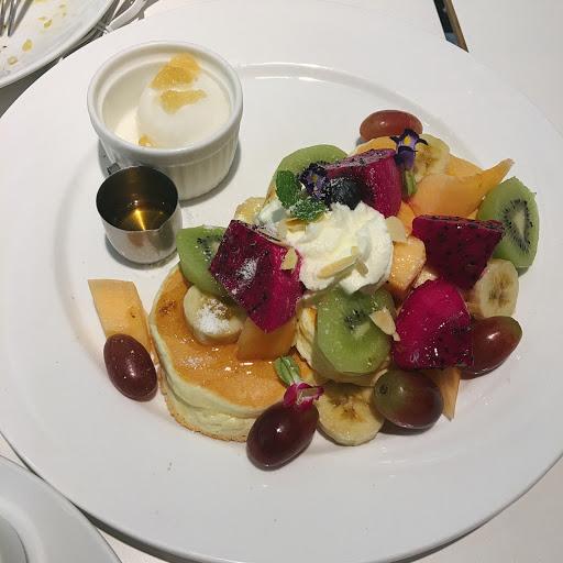 彩虹水果繽紛鬆餅 鬆餅好吃~ 鬆餅好食🤙🏻