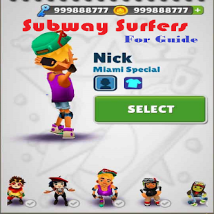 Subway Surf Guide - náhled