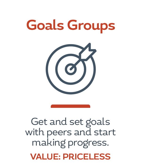 HerBusiness Network Benefits - Goals Groups