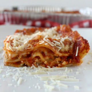 The World's Easiest Lasagna.