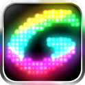 Glowing -create fun animations icon