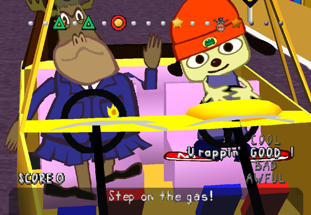 Photo: PaRappa The Rapper - http://on.mash.to/P3GZce