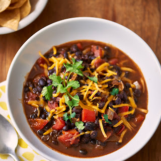 Slow Cooker Black Bean Chili.