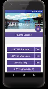 JLPT N3 - Complete Lessons - náhled