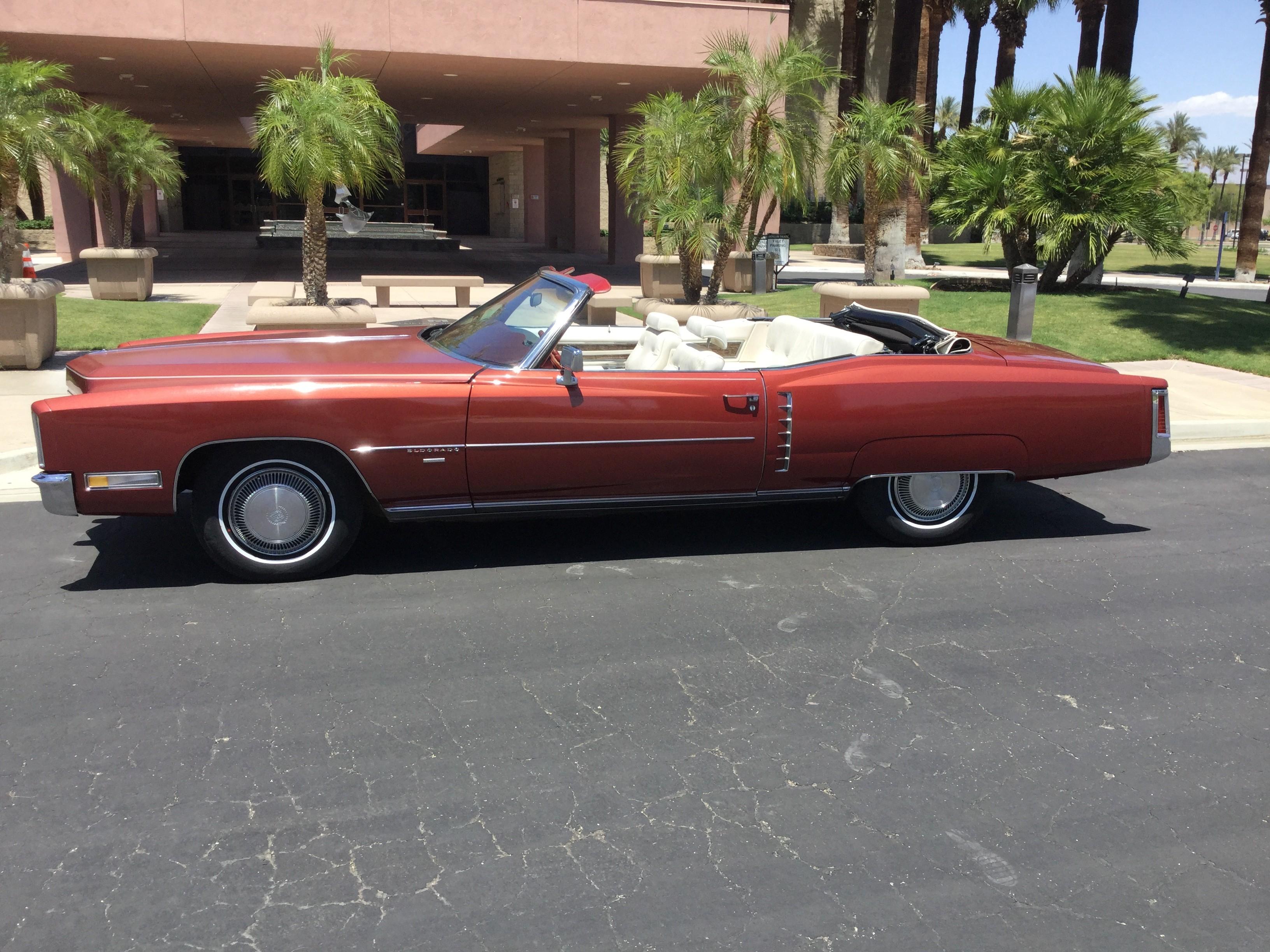 Cadillac Eldorado Hire Palm Desert, Ca