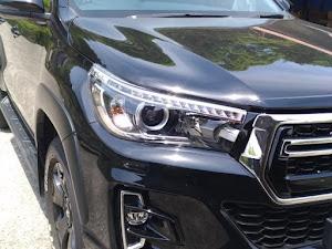 """ハイラックス GUN125 Z""""Black Rally Editionのカスタム事例画像 ヒロシさんの2020年10月28日22:06の投稿"""