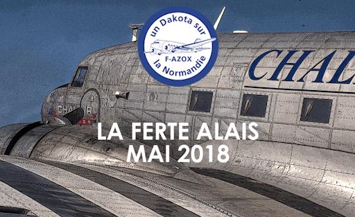 Vidéo-La Ferté-Alais 2018 DC3
