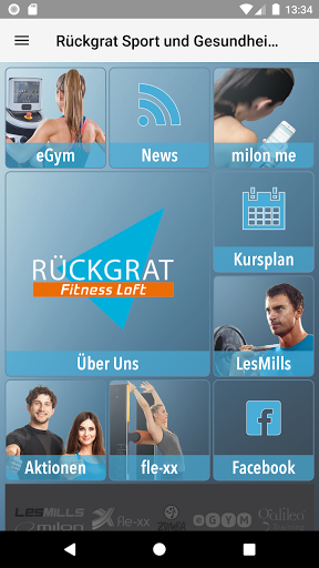 Ru00dcCKGRAT Fitness Loft 4.46 screenshots 1