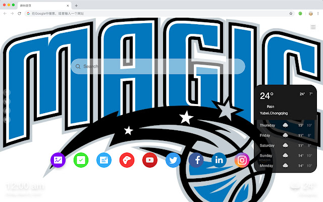 Orlando Magic New Tab & Wallpapers Collection