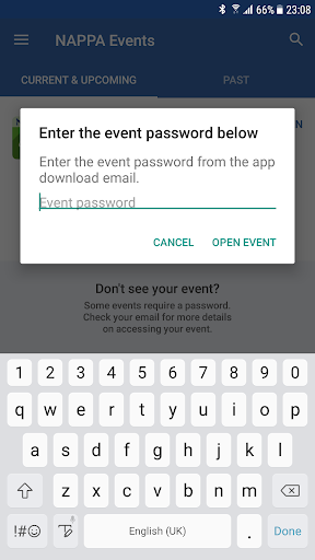 Screenshot for NAPPA Events in United States Play Store