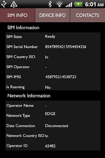 Mobile Sim Tracker