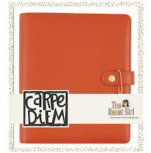 Simple Stories Carpe Diem A5 Planner Reset Girl Boxed Set - Persimmon UTGÅENDE