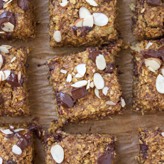 Pumpkin Flax Chocolate Breakfast Bars