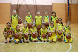 Photo: družstvo mladšie minižiačky 2002