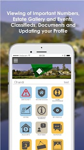 Residential Community Portal - náhled