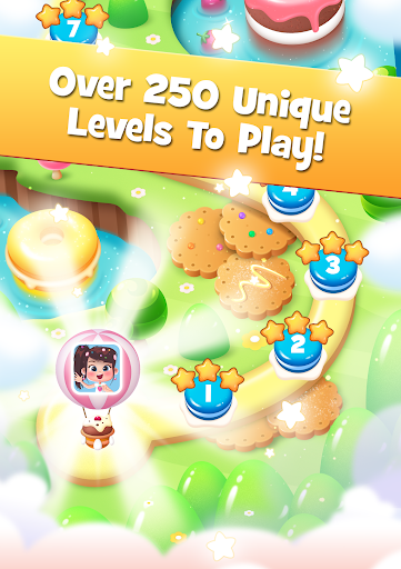 Candy Smash Craze Match 3 Puzzle Free Games Scapes - screenshot