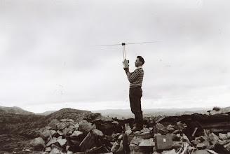 Photo: Muligens Lyheia. Måling. Ca. 1954