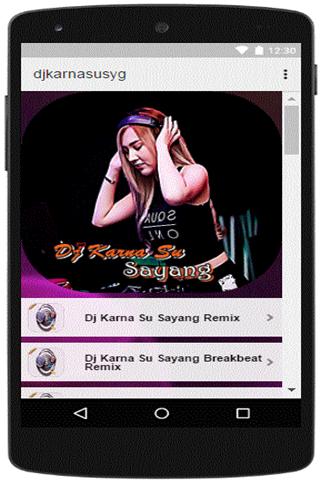 download dj remix karna su sayang