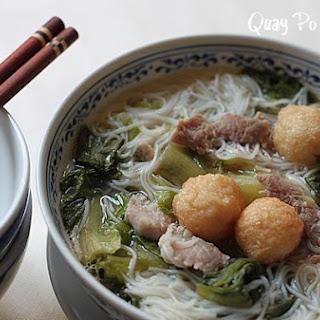 Mein Sin Or Mee Sua In Chicken Soup