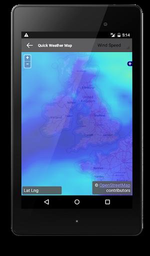 玩免費天氣APP|下載クイック天気無料天気アプリ app不用錢|硬是要APP