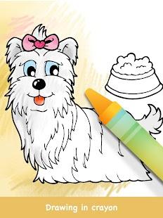 Dog Coloring Books Screenshot Thumbnail