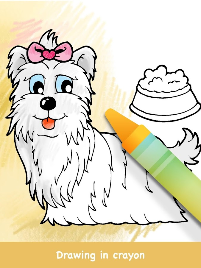 Dog Coloring Books - Android Apps on Google Play