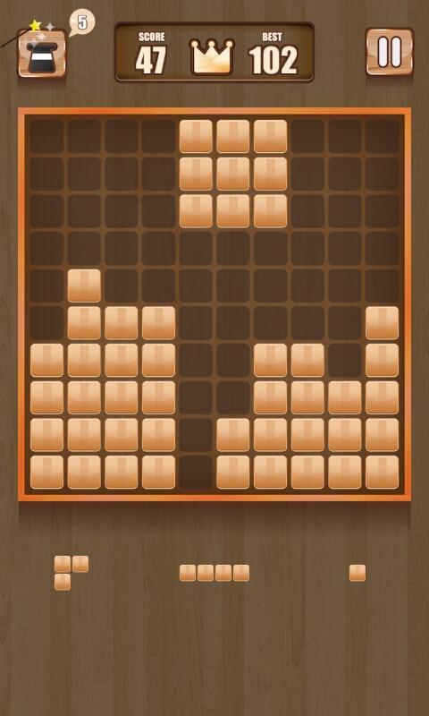 Wooden 100 Block Puzzle APK 2.0.1 screenshots 1