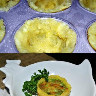 Savory Egg and Sweet Potato Cups