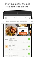 Screenshot of TinyOwl Food Ordering