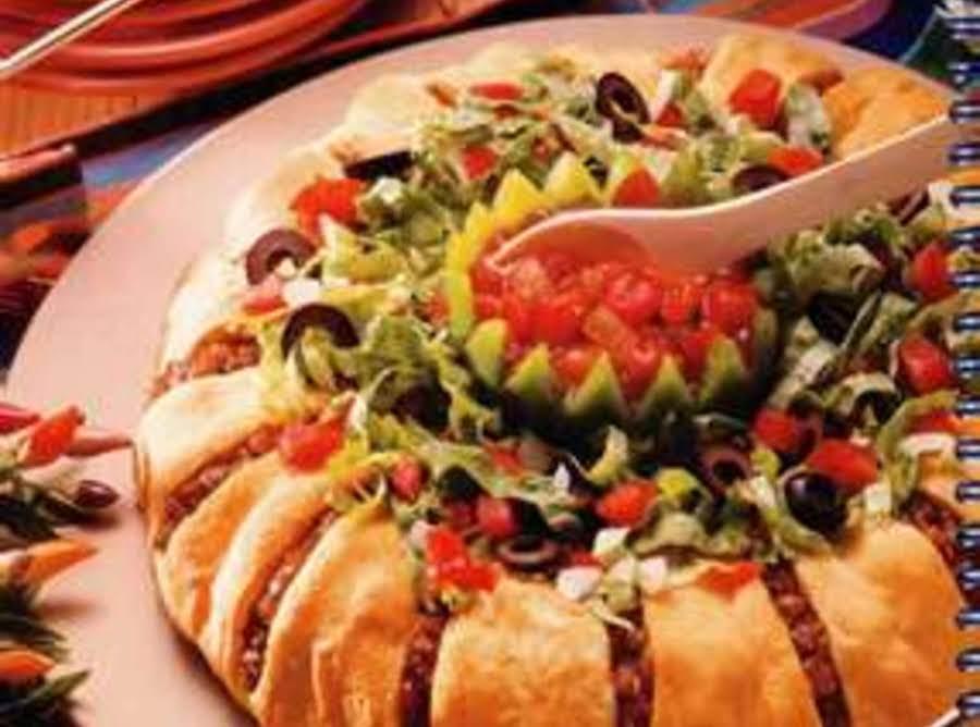 Muy bonita taco ring recipe just a pinch recipes for Bonita fish recipes